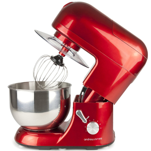 Andrew James 1300 Watt Multifunctional Red 5.2 Food Mixer